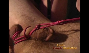 Kinky 3some session in the dungeon with 2 sexy hotties