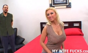 Watch your hawt Married slut getting pounded by a pornstar