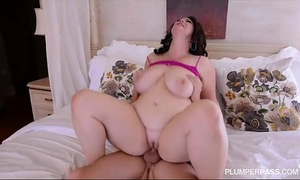 Plump large tit milf acquires screwed in the booty by college dude