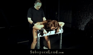 Hardcore julie in hawt corset hard whipped and screwed in doggie