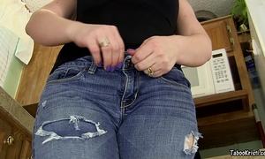 Smell your sister's captivating rectal hole brother - taboo milf perverted kristi
