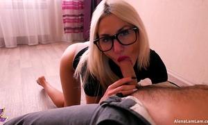 Horny milf oral-sex her neighbour, 4k (ultra hd) - alena lamlam