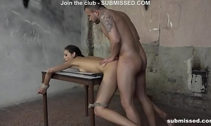 three of the superlatively good struggling submissed hotties fastened and screwed hardcore