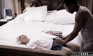 Pure taboo blind legal age teenager tricked into ir creampie by fake doctor
