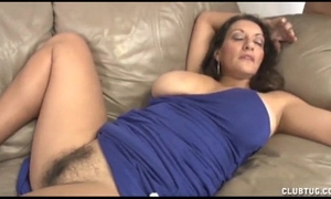 Busty milf cook jerking and love tunnel rubbing